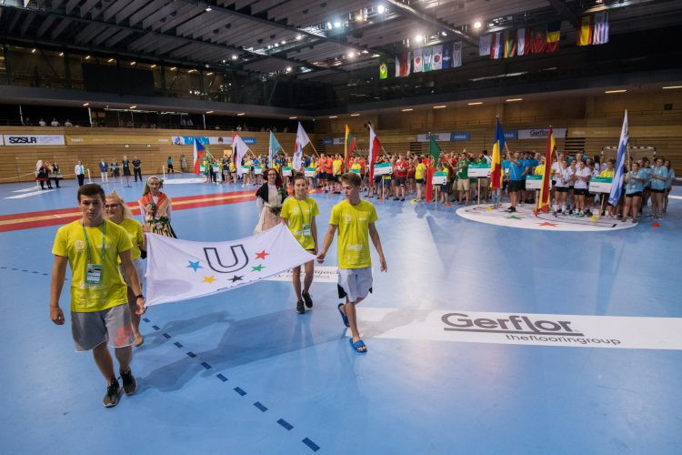 The Opening Ceremony for the competition was held yesterday evening, after all of day one's matches had finished ©FISU