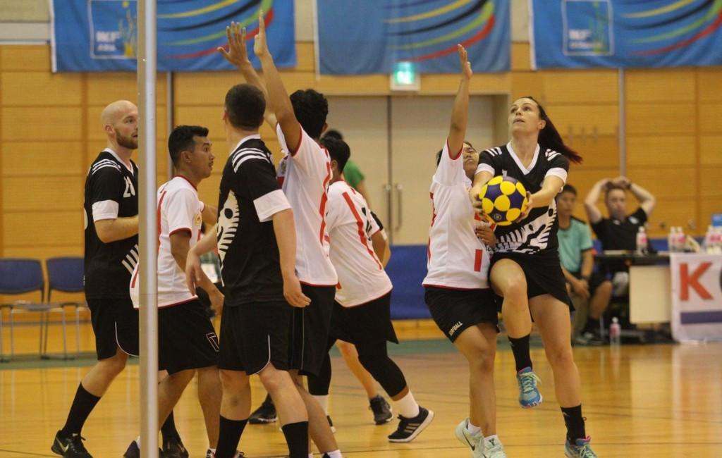 Action continued today at the Asia-Oceania Korfball Championship in Saitama in Japan ©IKF/Twitter/Osamu Kimura