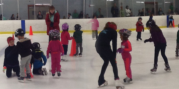 Learn to Skate events have taken place across America ©Tamo Hockey
