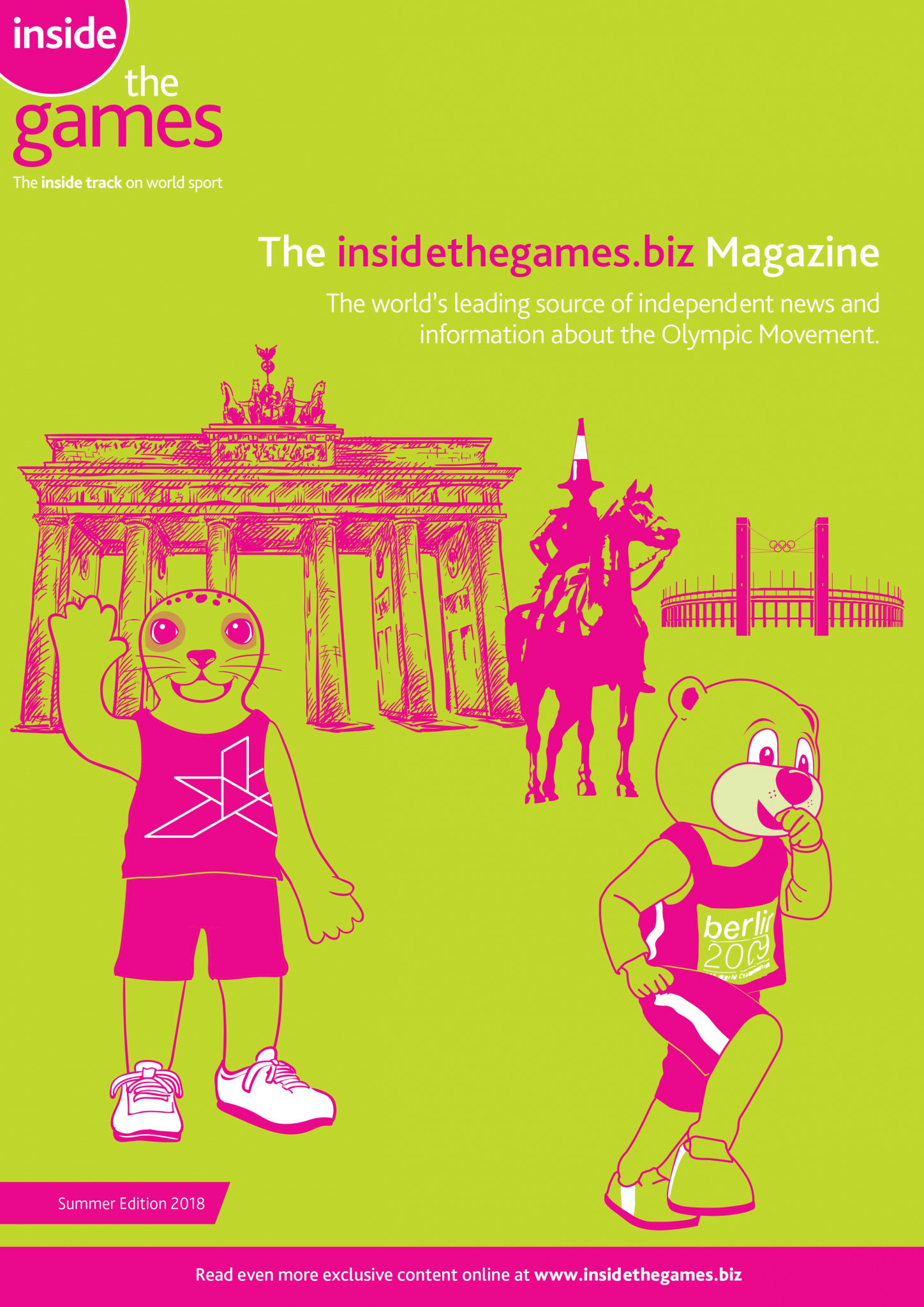 The insidethegames.biz Magazine Summer Edition 2018