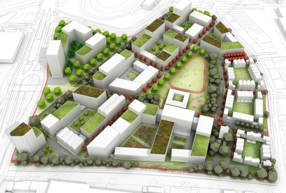 The Birmingham 2022 Athletes' Village will provide 3,000 new homes  in the city after the Commonwealth Games ©Birmingham City Council