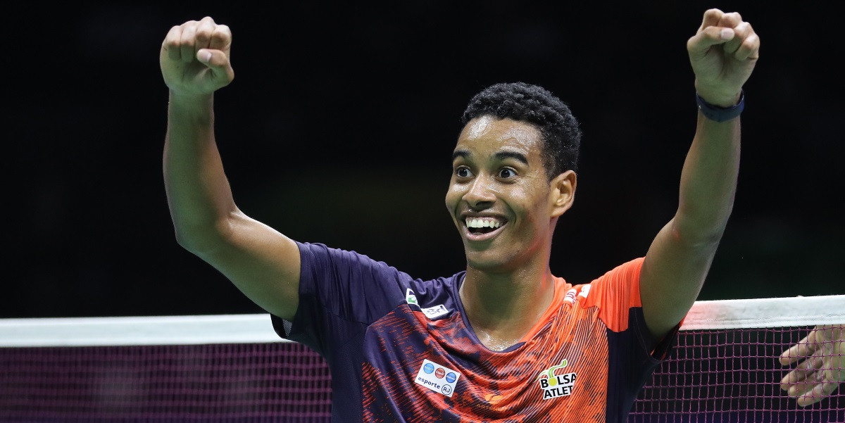 Brazilian continues superb Nanjing form at BWF World Championships