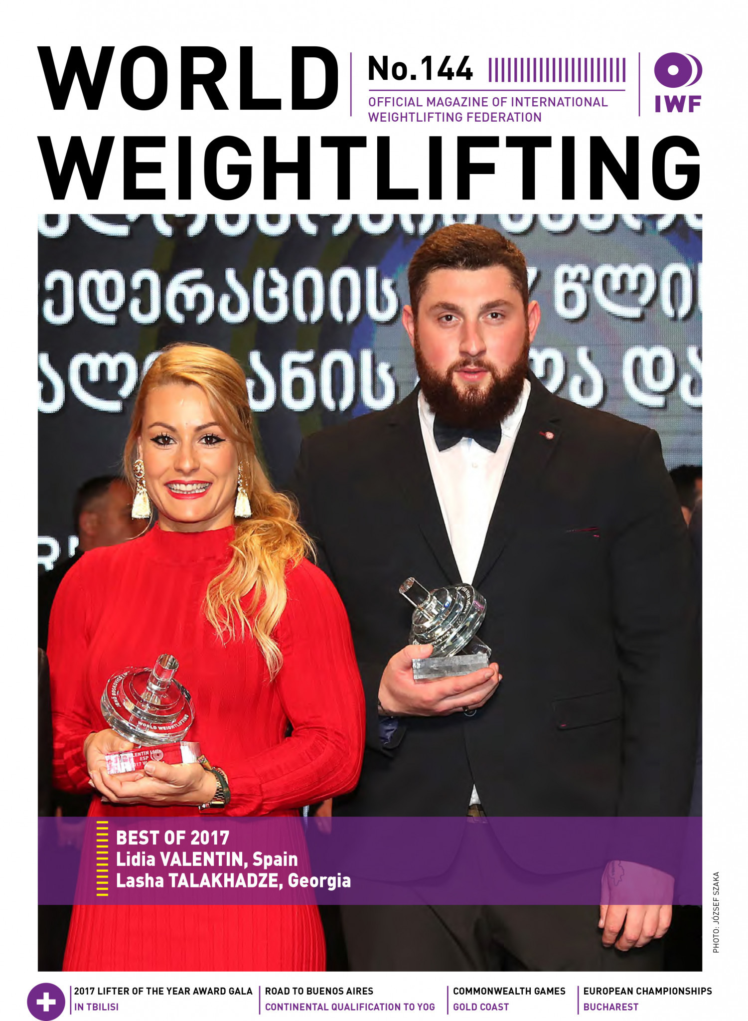 World Weightlifting Magazine No. 144