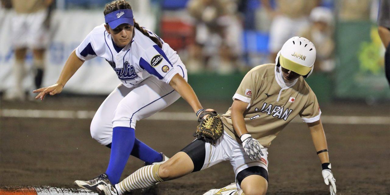 Japan thrash Italy to open Women's Softball World Championship