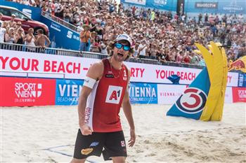 The atmosphere in Vienna for the latest leg of the FIVB Beach Volleyball Major Series has been a huge factor in the event ©FIVB