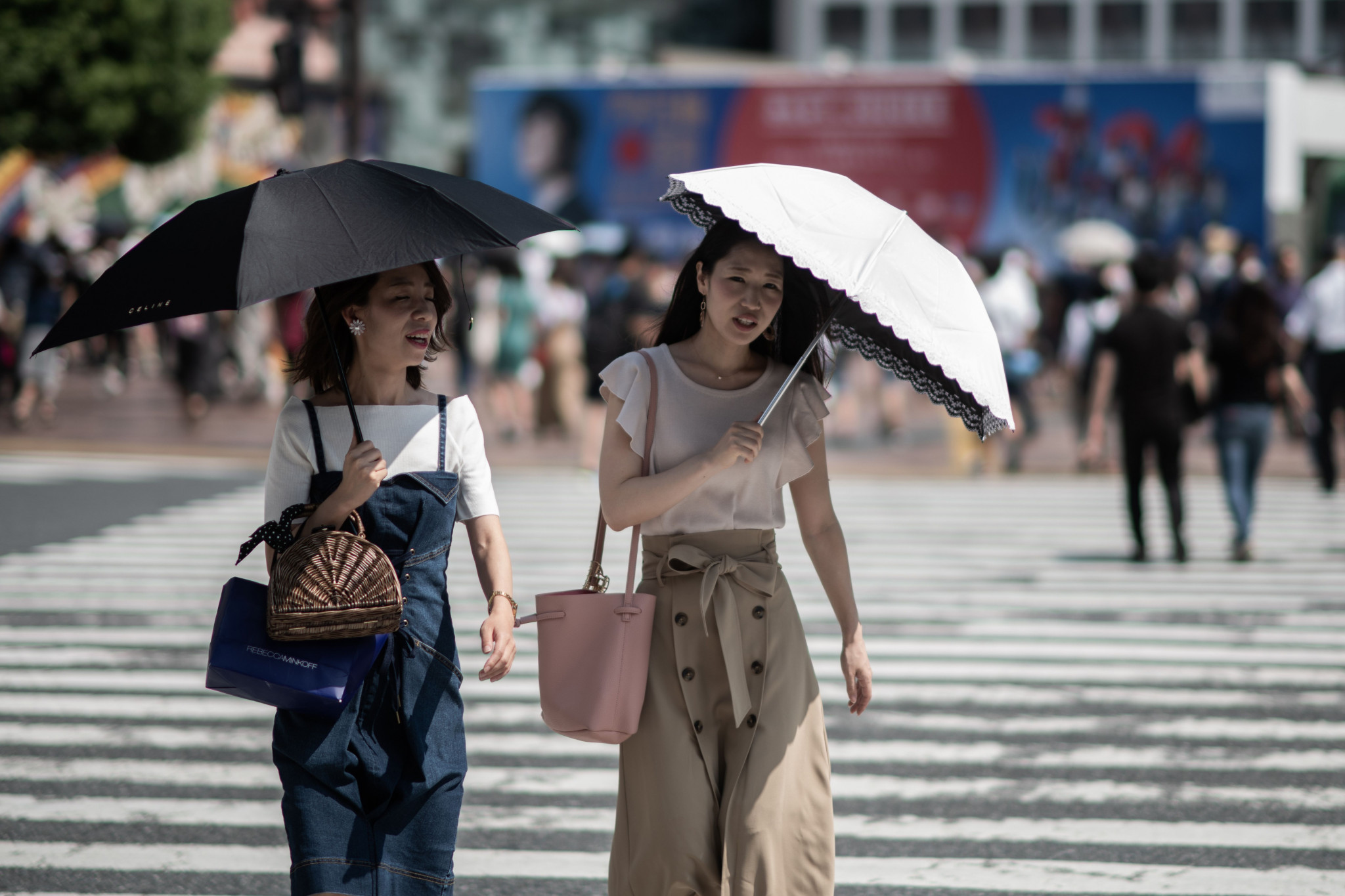 Temperatures have soared in Japan in recent weeks ©Getty Images