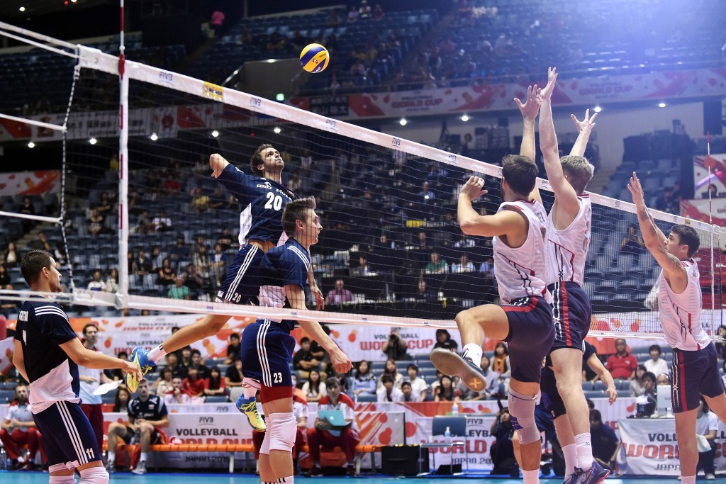 Poland take control of FIVB Men's World Cup by winning crunch clash with United States