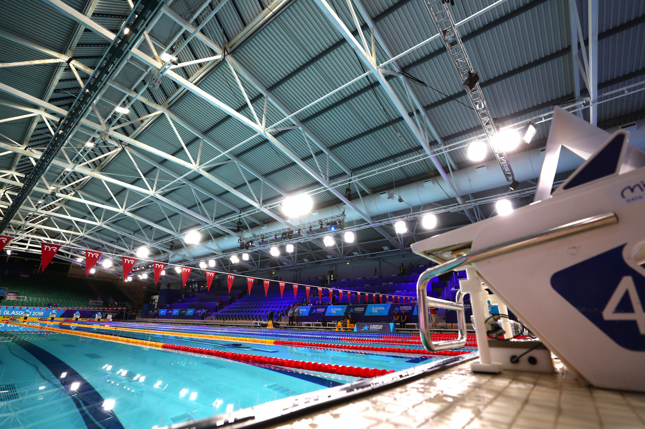 Swimming competition will begin tomorrow on the first day of medal action in Glasgow ©Getty Images