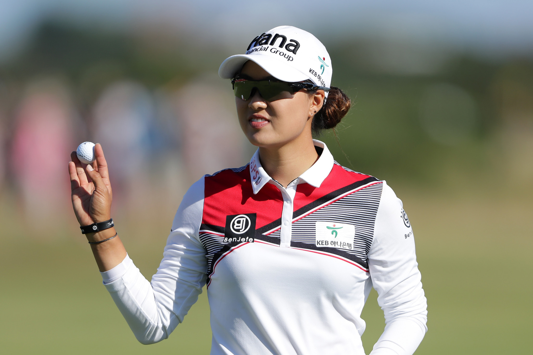 Australia's Minjee Lee is the clubhouse leader after day one of the Women's British Open ©Getty Images