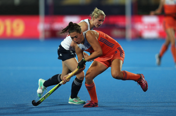 Defending champions The Netherlands proved too strong for England in their quarter-final match tonight in the Women's Hockey World Cup in London ©Getty Images