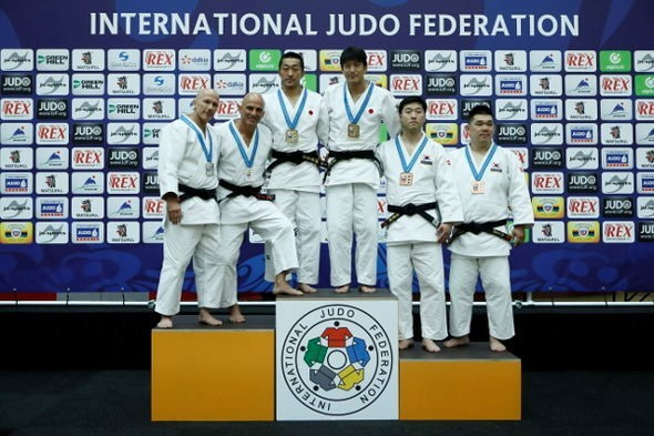 Japan secured gold in all five disciplines at the Championships ©IJF