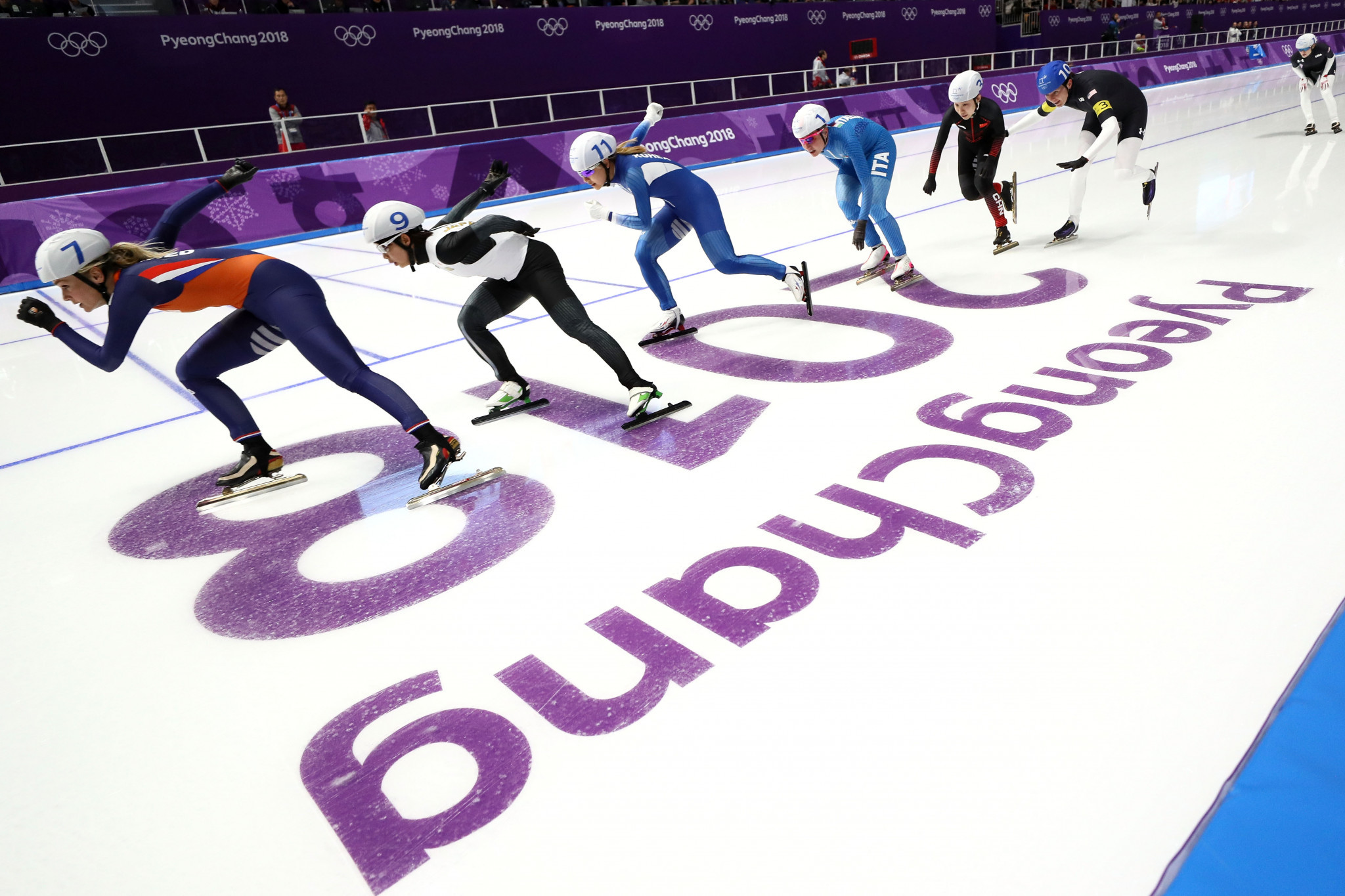 The Dutch remain the world's dominant power in speed skating ©Getty Images
