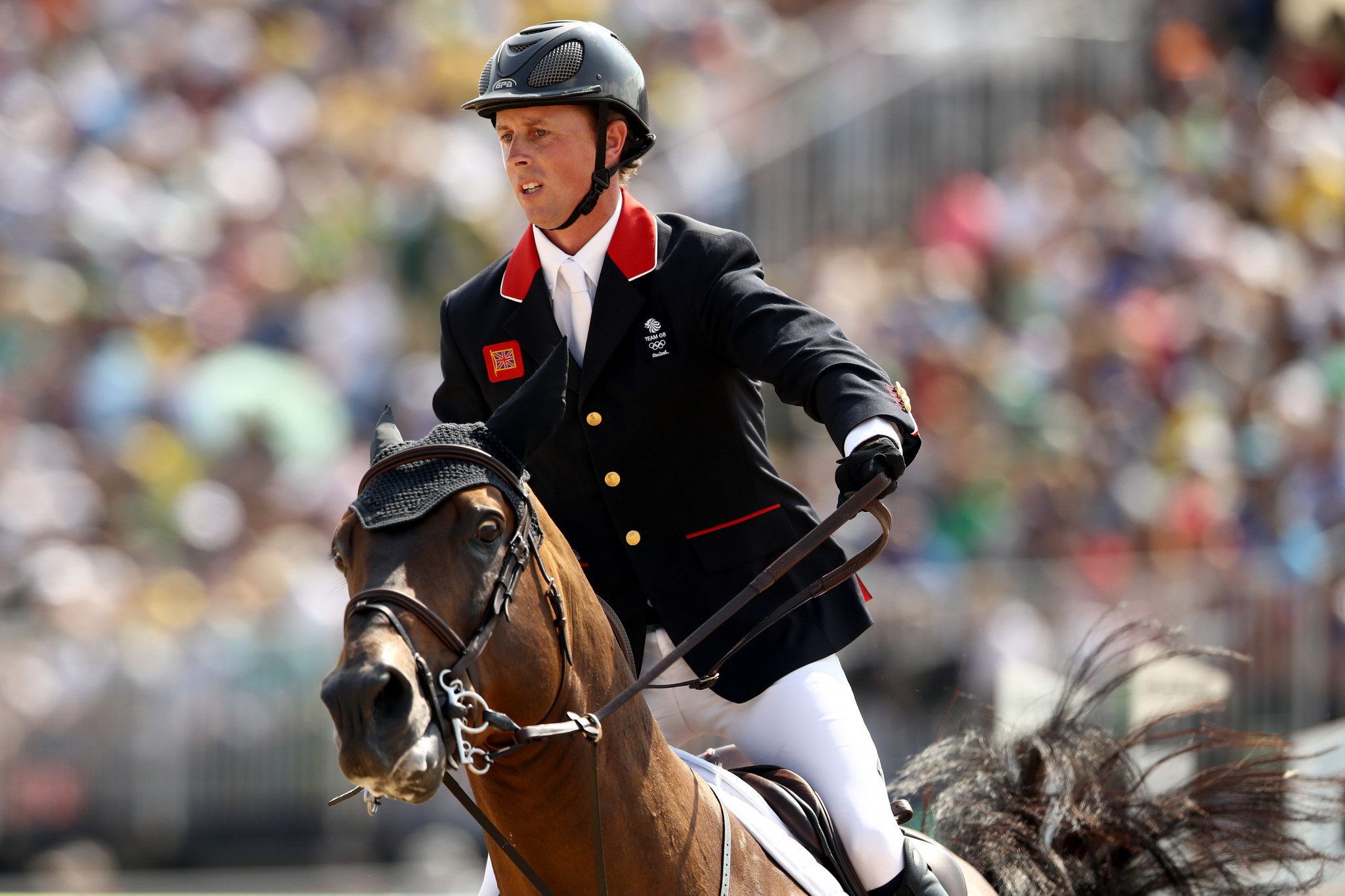 Briton Maher seeking to maintain Global Champions Tour lead in London stop