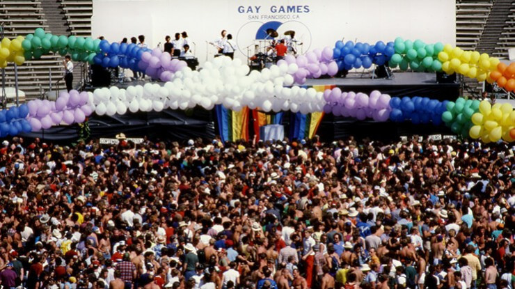 The Gay Games, first held in San Francisco in 1982 and 1986, have now grown to involve 10,000 athletes by their tenth edition, which will be hosted by Paris starting from tomorrow  ©Getty Images