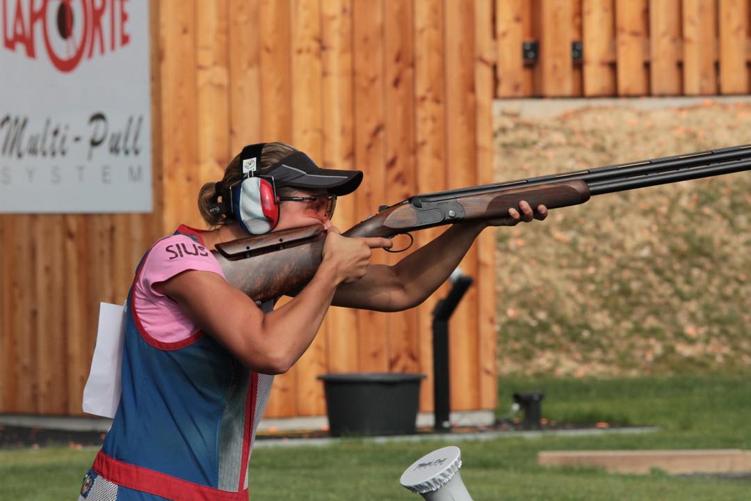 Melanie Couzy continued her superb form today ©ESC