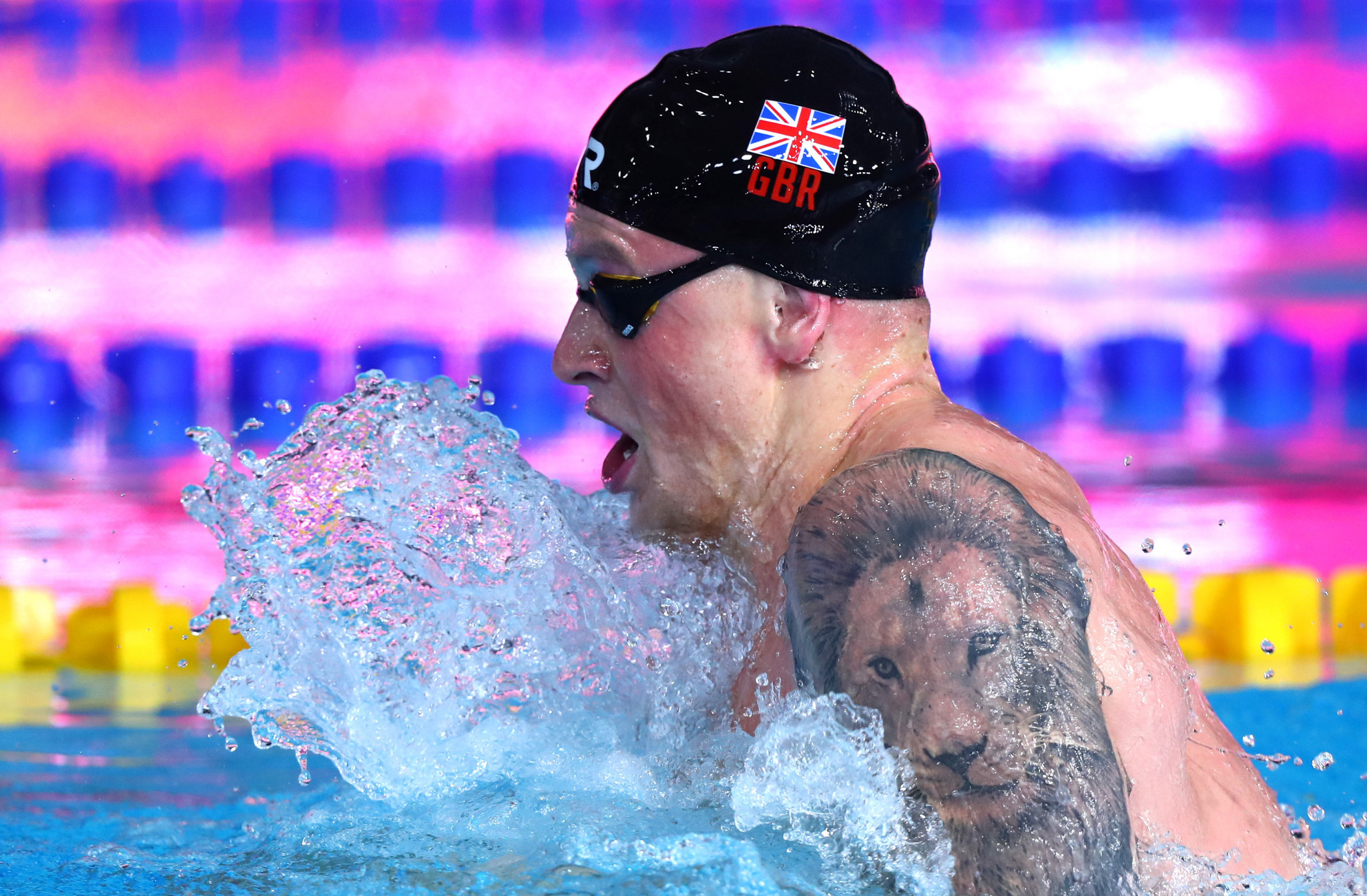 Olympic champion Adam Peaty cruised into the men's 100m breaststroke final ©Getty Images