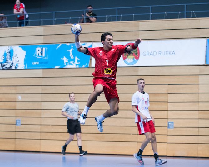 Head-to-head records needed to sort semi-finalists in hugely competitive World University Handball Championships