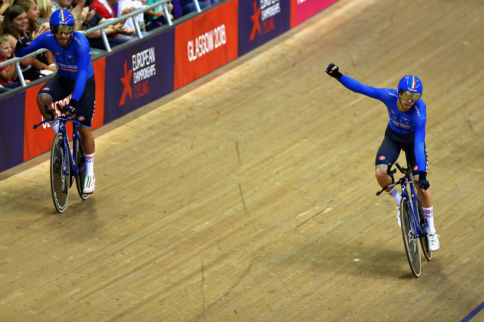 Italy emerged triumphant in the men's event ©Getty Images