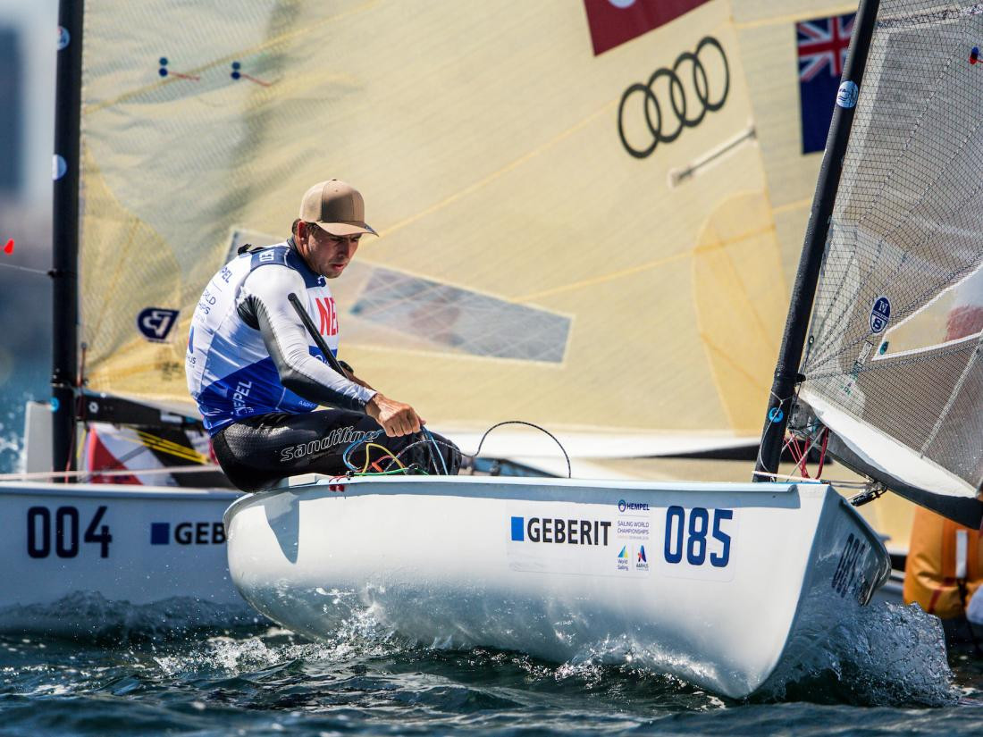 Dutch Olympic battle commences within Sailing World Championships at Aarhus