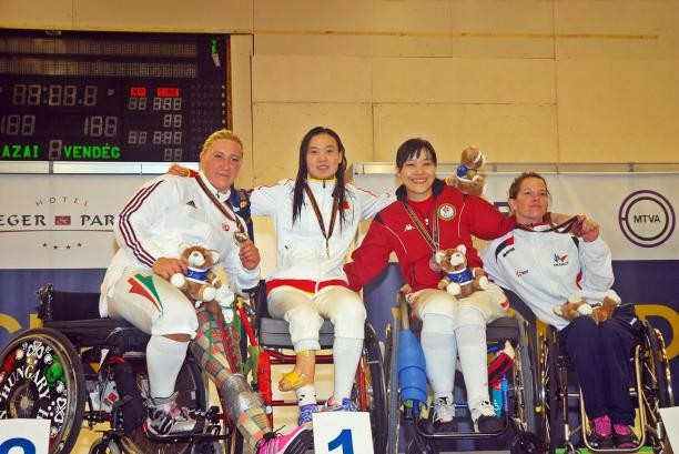 Xu Feng Zou collects second gold at Wheelchair Fencing World Championships