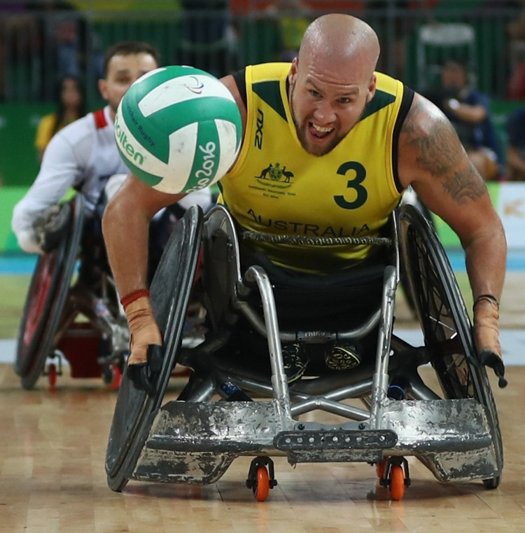 Australia's Steelers presented with jerseys before IWRF Wheelchair Rugby World Championships start