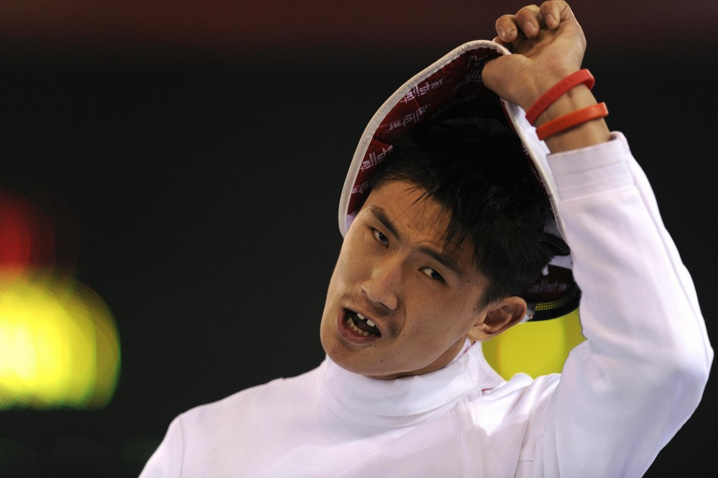 Jianquan Tian defended his sabre world title