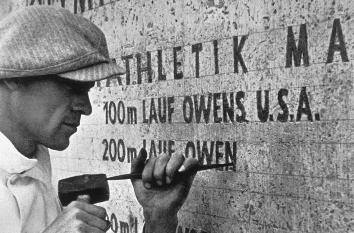 Jesse Owens' Olympic achievements are inscribed into the fabric of the Berlin Olympic Stadium ©Getty Images
