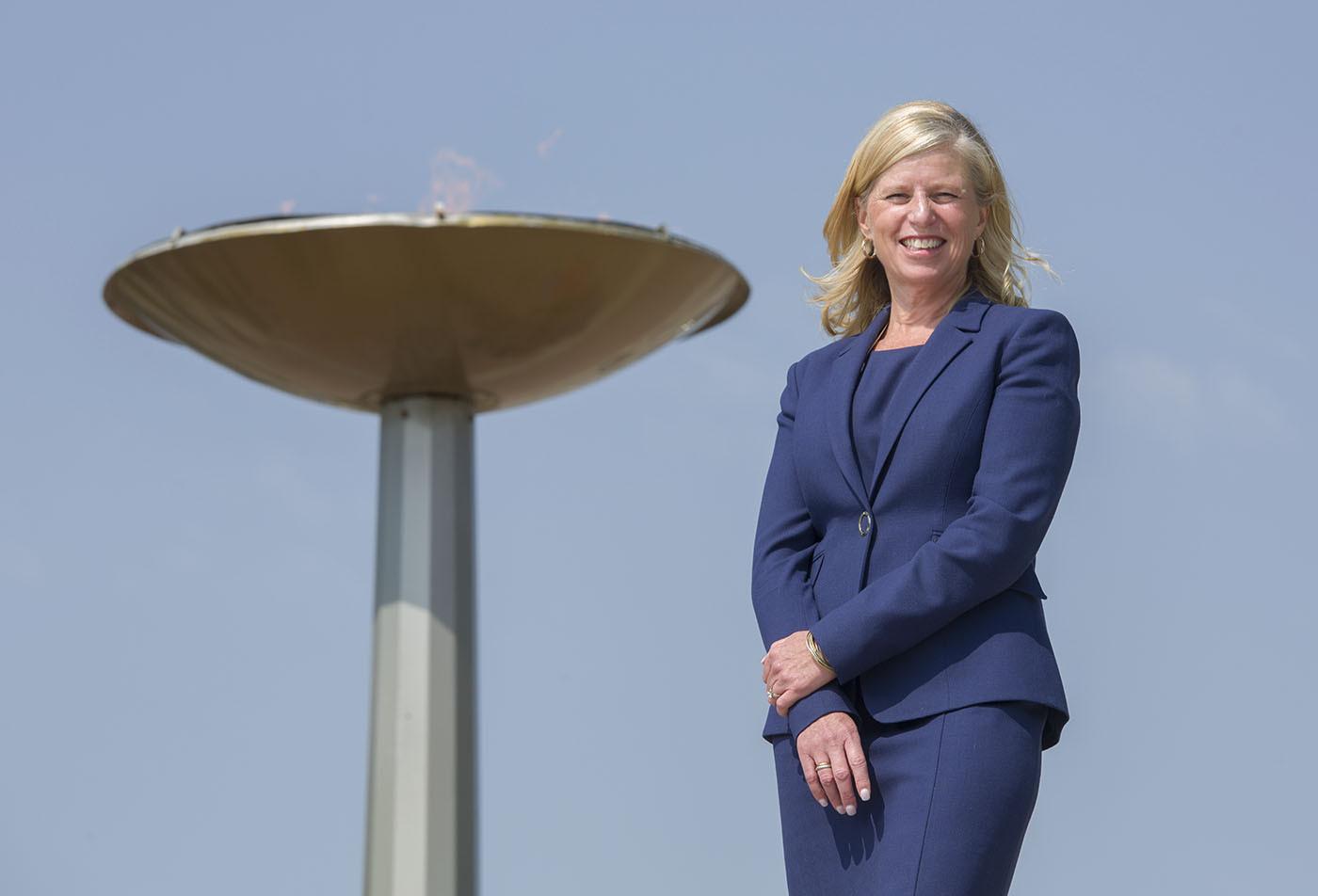Mary Moran has been named the chief executive of the Calgary 2026 bid team ©Calgary 2026