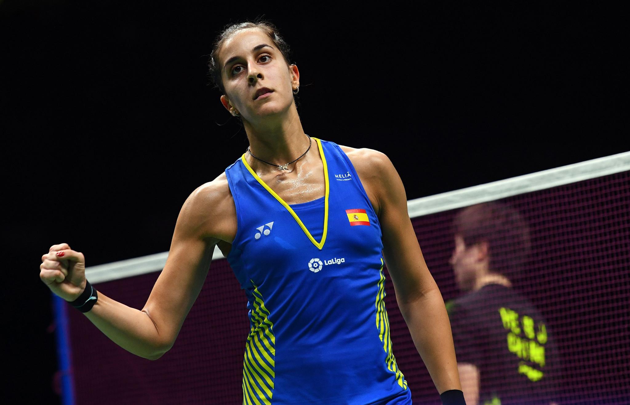 Marin and Shi among semi-final winners at Badminton World Championships