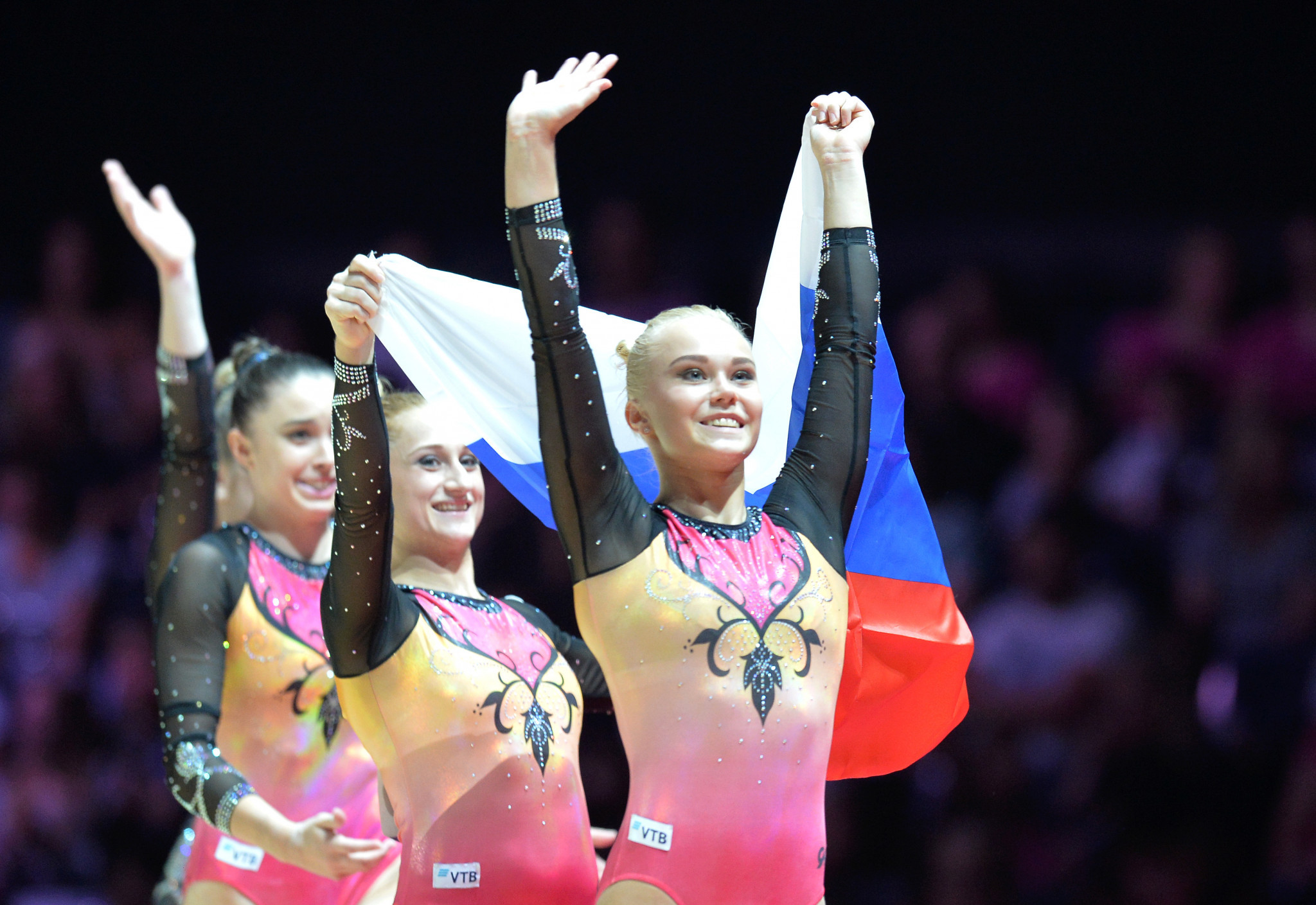 Russia retain women's artistic gymnastics team title at Glasgow 2018 European Championships