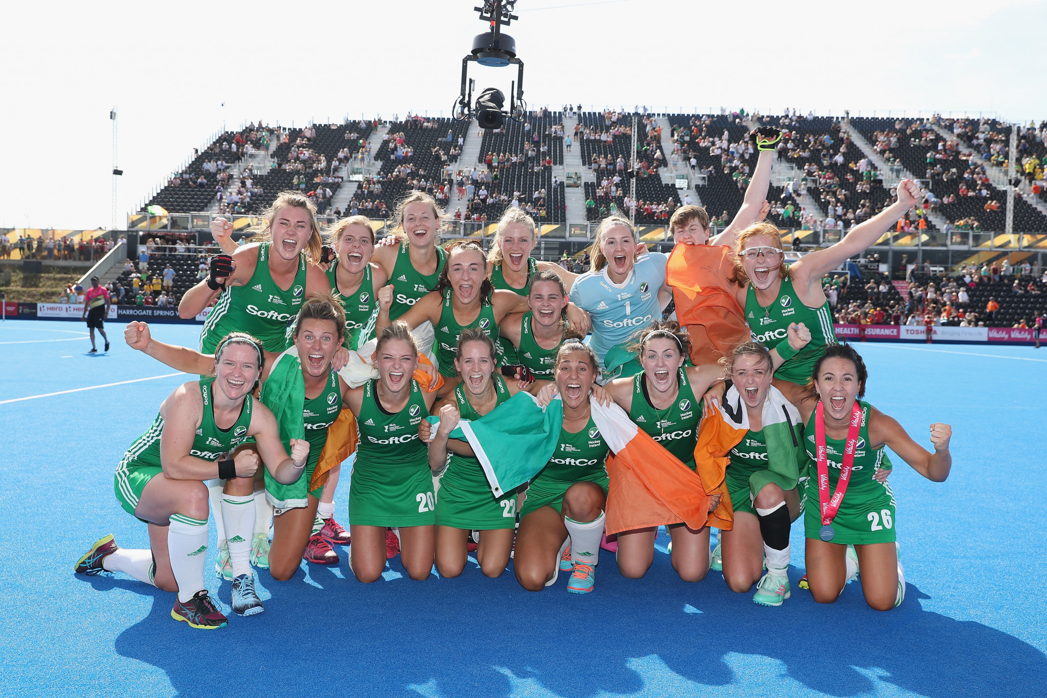 Historic win for Ireland as reach final of FIH Women's Hockey World Cup