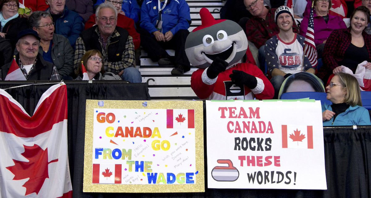 Record crowds attended the 2018 World Women's Curling Championships in North Bay