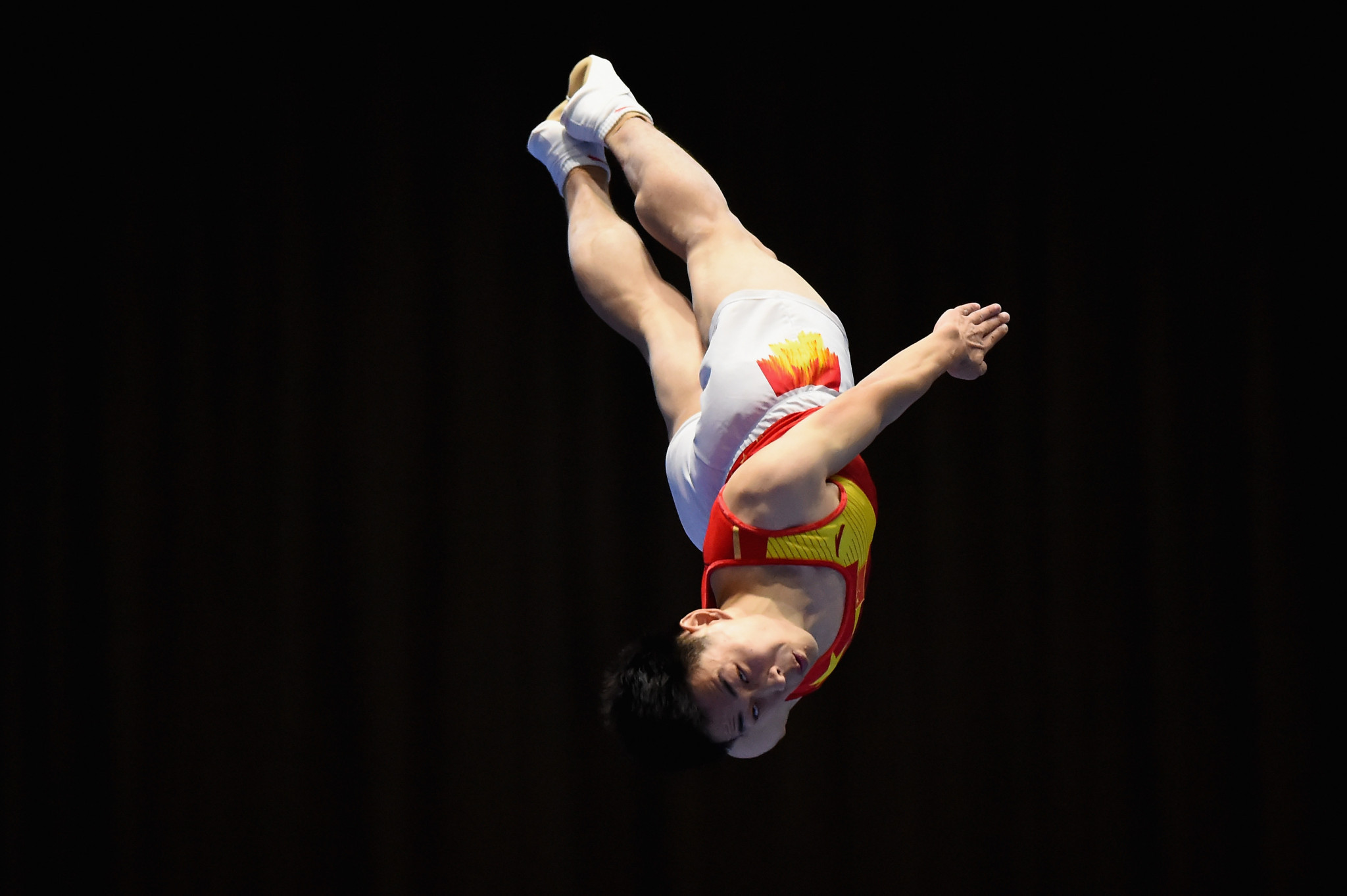 China on top in qualifying at FIG Trampoline World Cup
