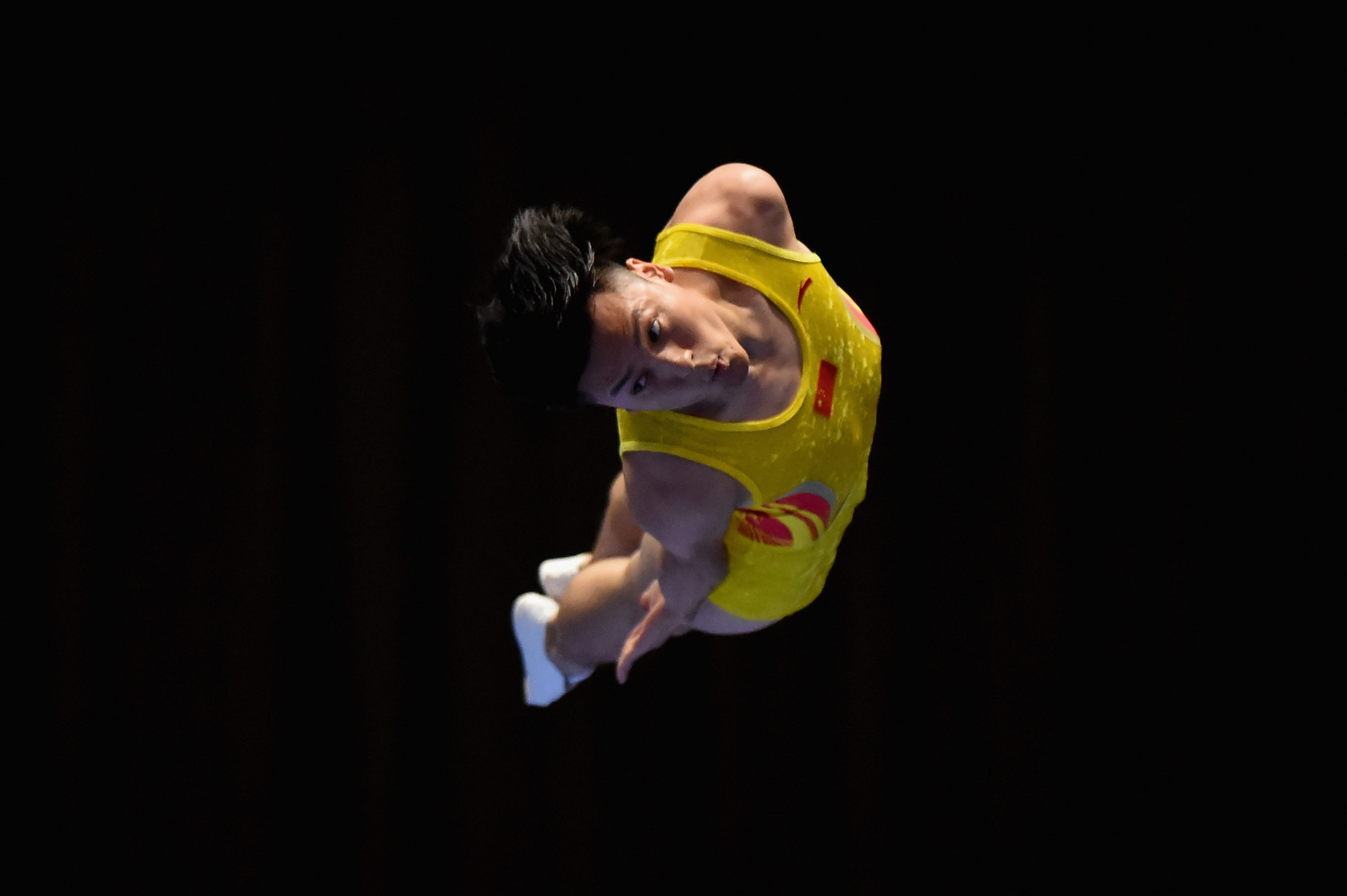China's Olympic gold medallist Dong Dong of missed out on the final Zhu Xueying ©Getty Images
