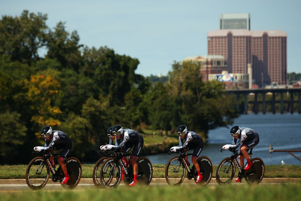 Velocio-SRAM and BMC Racing defend team time trial titles as World Road Cycling Championships begin in Richmond