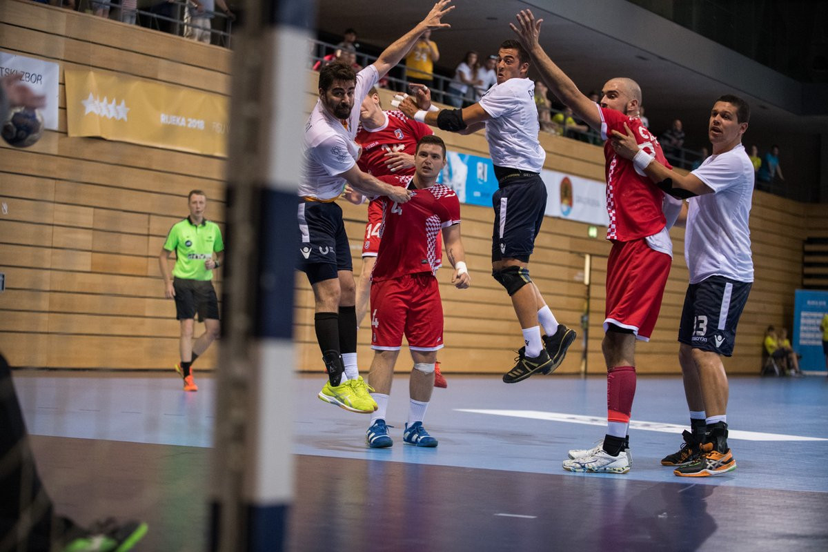Croatia have made it through to the final of the FISU World University Handball Championships on home soil after beating Japan today in the semi-finals ©FISU