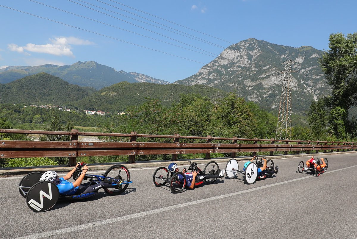 Multi-talented Porcellato completes golden double at Para Cycling Road World Championships