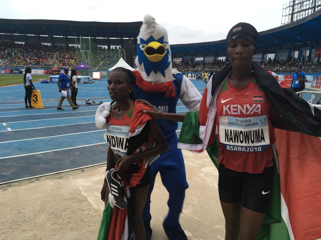 Ndiwa leads Kenyan 1-2 as medals shared at African Athletics Championships