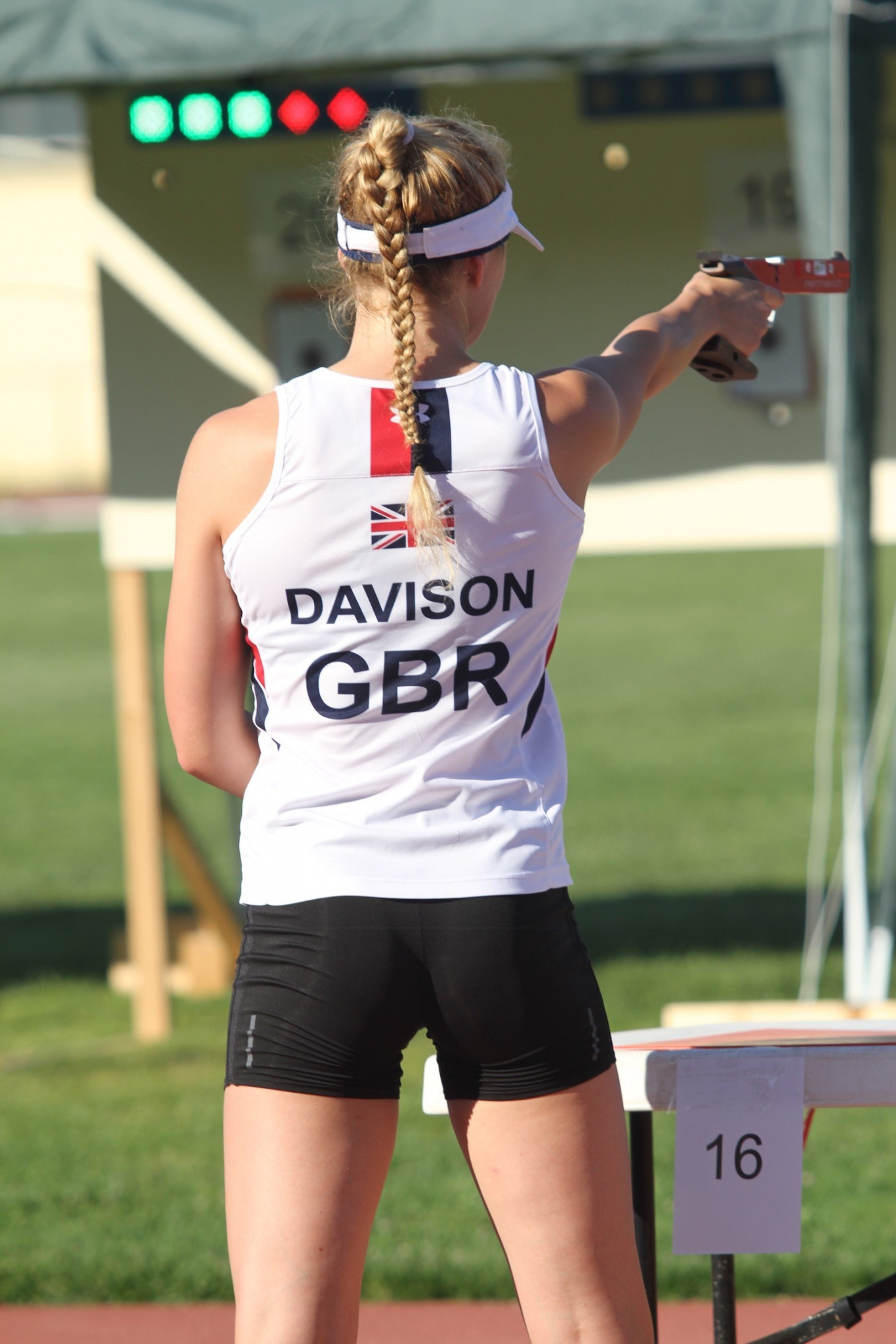 Great Britain's Zoe Davison finished fourth in her best individual performance to date ©Pentathlon GB