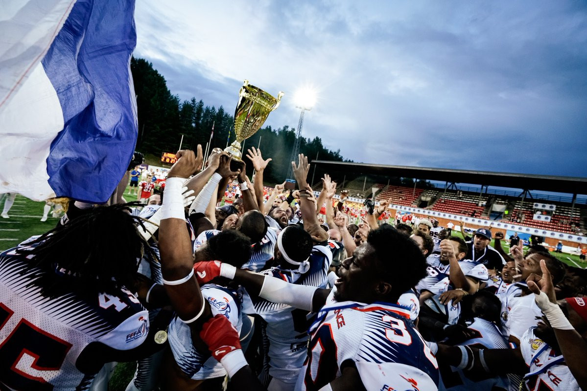 France claim first European American Football Championships with win over Austria