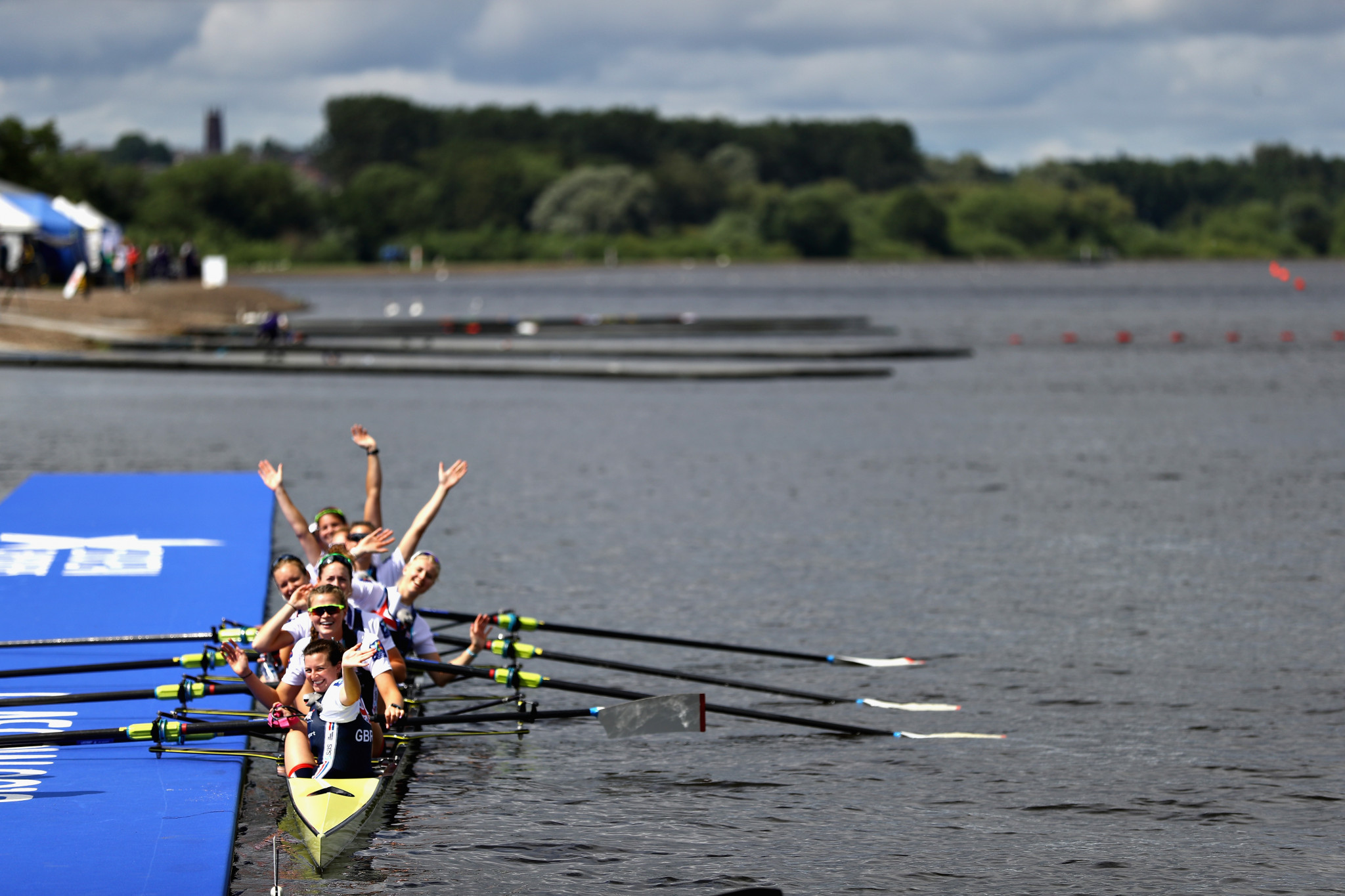 The first nine rowing gold medals were claimed as finals began ©Getty Images