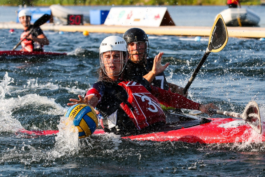 Britain beat Germany in the men's under-21 final ©ICF