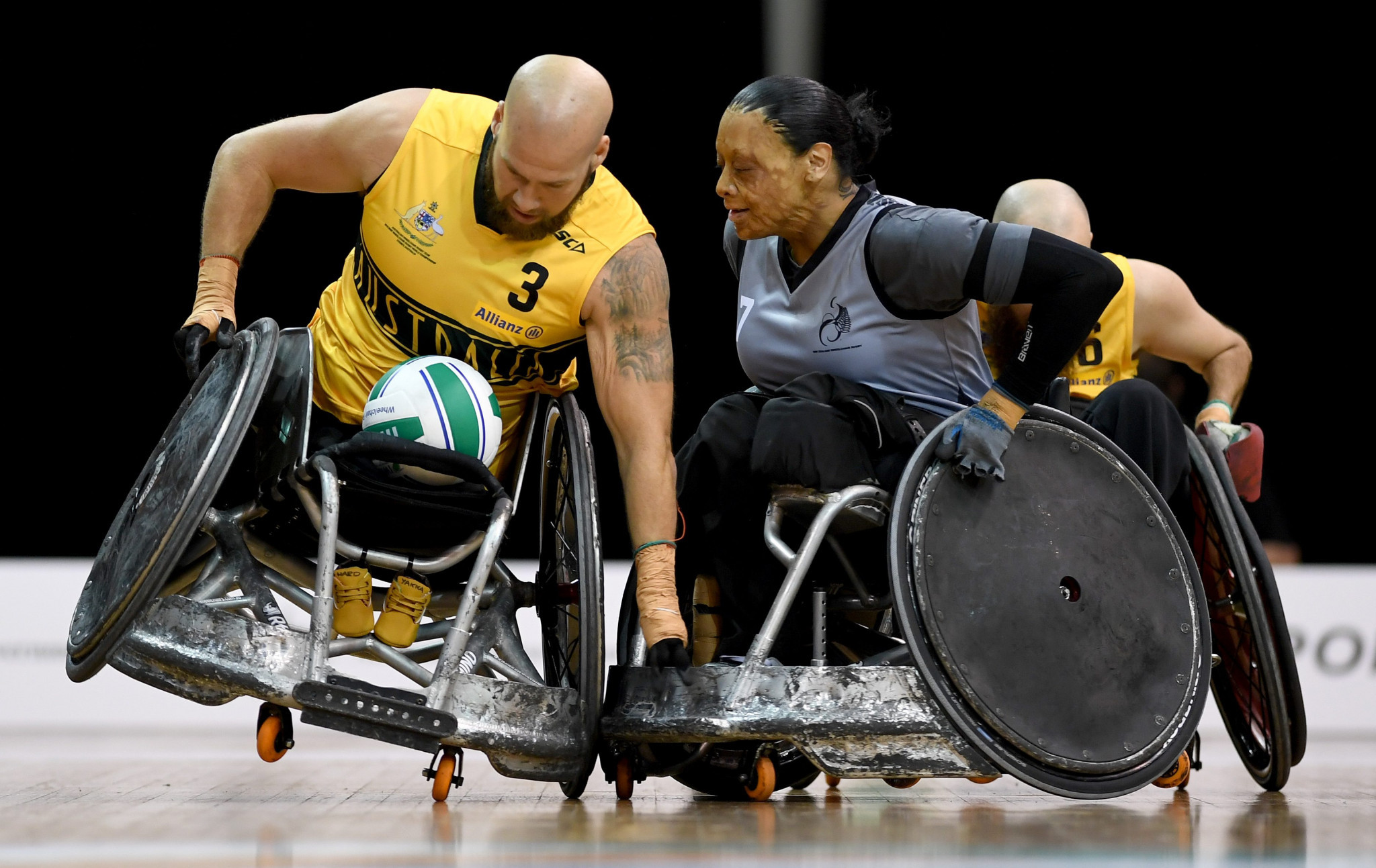 Hosts Australia open Wheelchair Rugby World Championship with fine win as France shock Canada