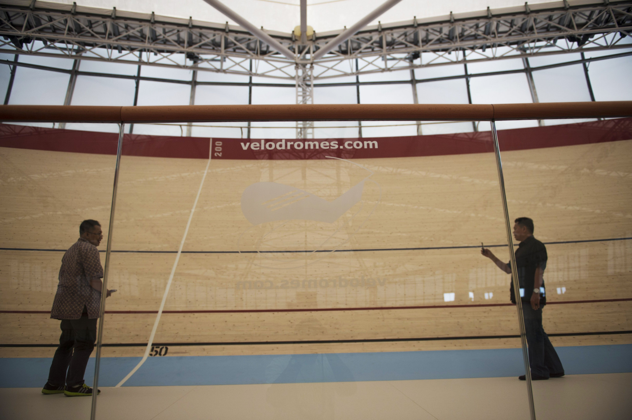 The velodrome has been constructed for the Asian Games ©Getty Images