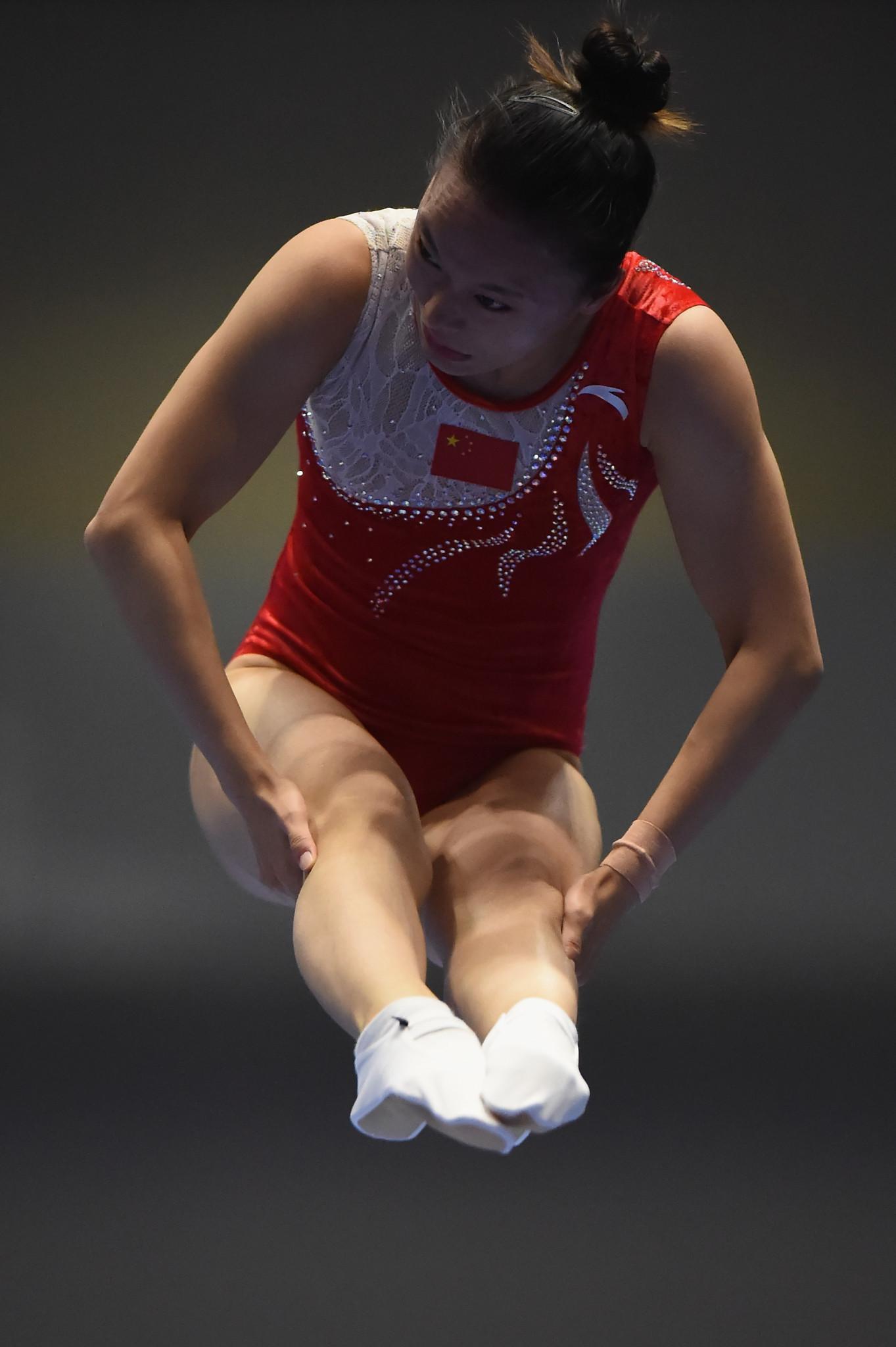 Zhu Xueying won the women's title ©Getty Images