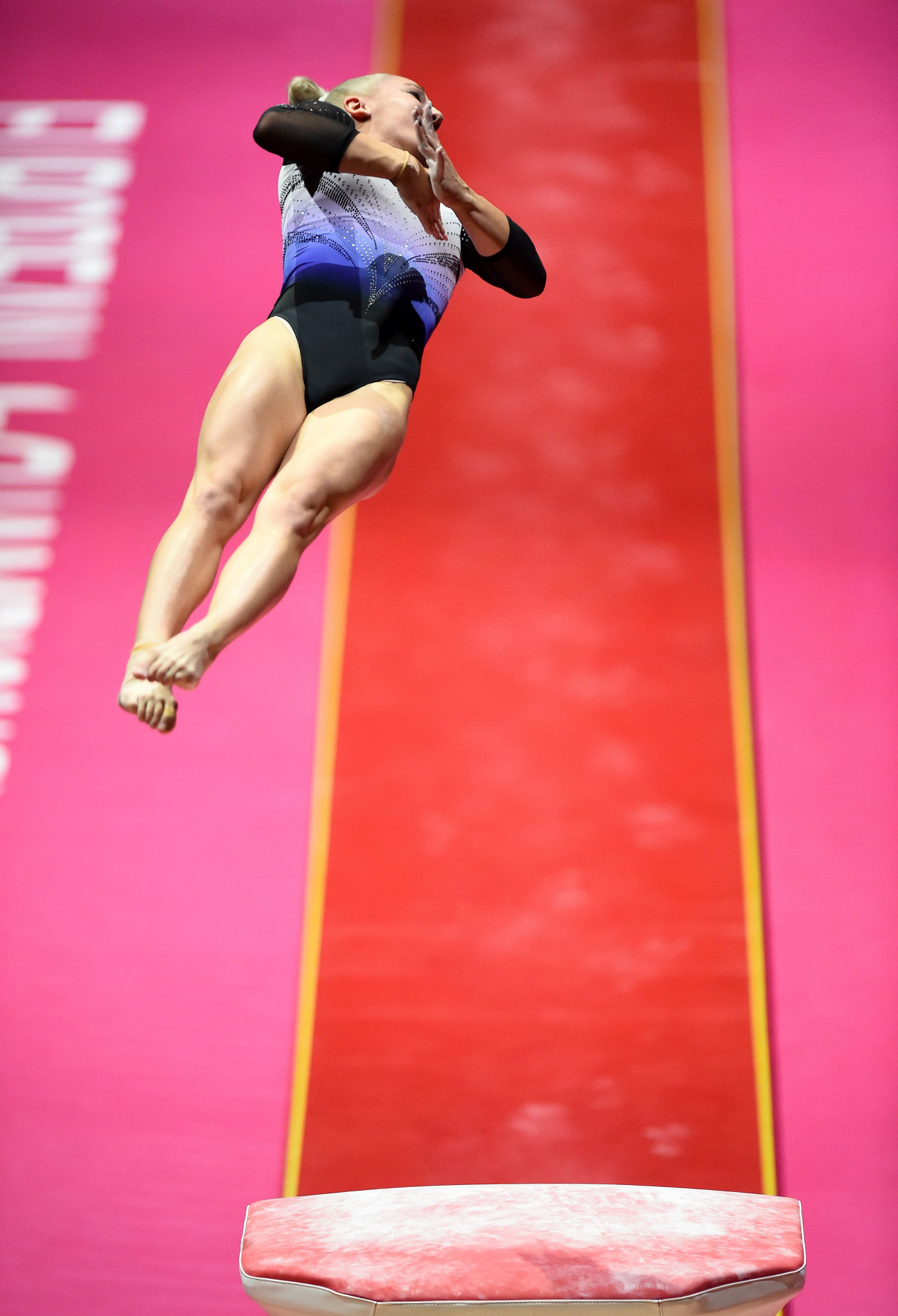 Hungary's Boglárka Dévai claimed her first-ever European title with victory in the women's vault ©Getty Images
