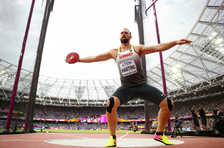 Robert Harting, London 2012 discus champion, will end his international career in his home stadium in Berlin where he earned a world title in 2009 ©Getty Images