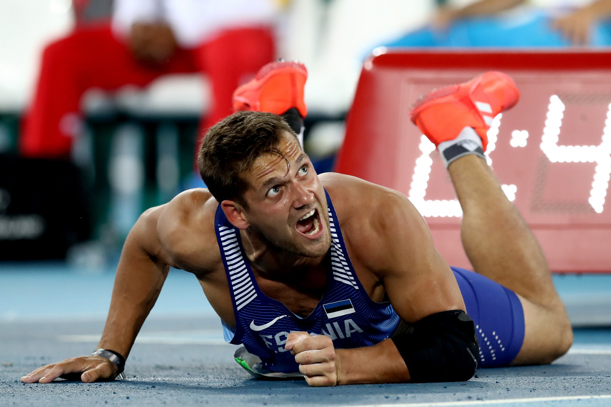 Could Estonia's Magnus Kirt ruin the German javelin party at the Berlin European Athletics Championships? ©Getty Images