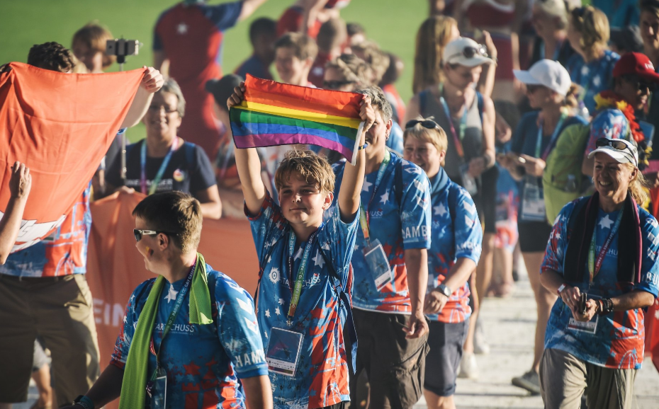 Sport begins at Gay Games in Paris