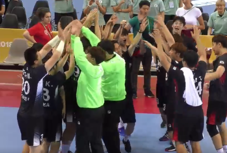 South Korea and Japan win at FISU World Handball Championships